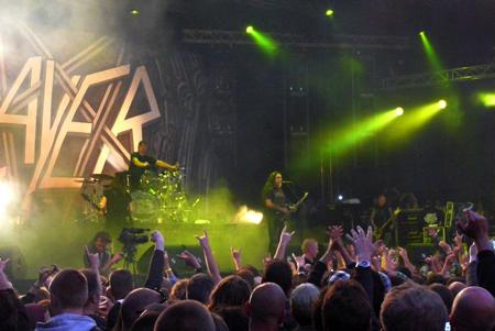 Slayer @ FortaRock 2012