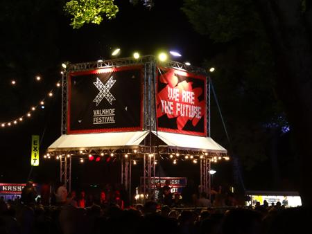 Valkhof Festival by night